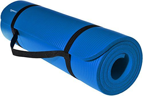 Amazonbasics 1 2 Inch Extra Thick Exercise Mat With Carry Https Www Amazon Com Dp B01lp0v4jy Ref Cm Thick Exercise Mat Mat Exercises Extra Thick Yoga Mat