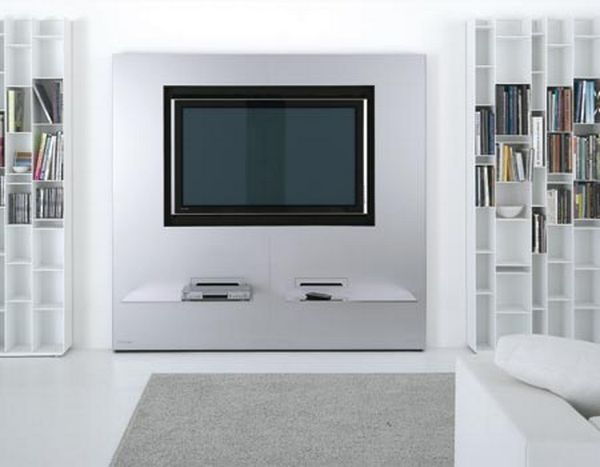 modern stylish wall unit design for lcd tv stand ideas - Designer Wall Unit