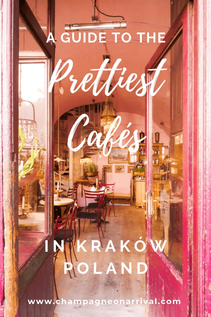 A guide to some of the best cafés in Kraków, Poland #Krakow #krakowtravel #travel #krakowcafes #cafes