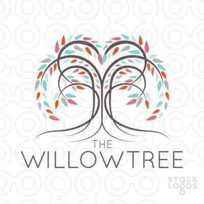 how to add the name willow designs to a willow tree yahoo image rh pinterest com willow tree logo images willow tree looks like