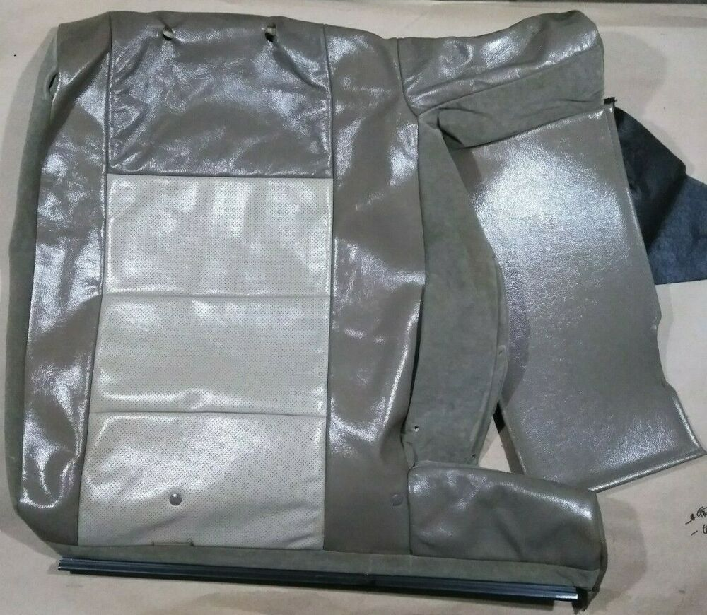 2005 2006 2007 Ford Fivehundred 500 Montego Rear Bench Seat Leather Large Backrest Cover Fordfivehundred Fiveh Leather Seat Ford Five Hundred Used Car Parts