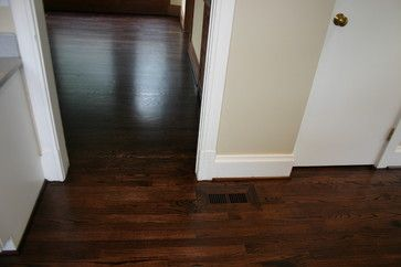 Red Oak Stained With Dura Seal Stain Royal Mahogany Ebony
