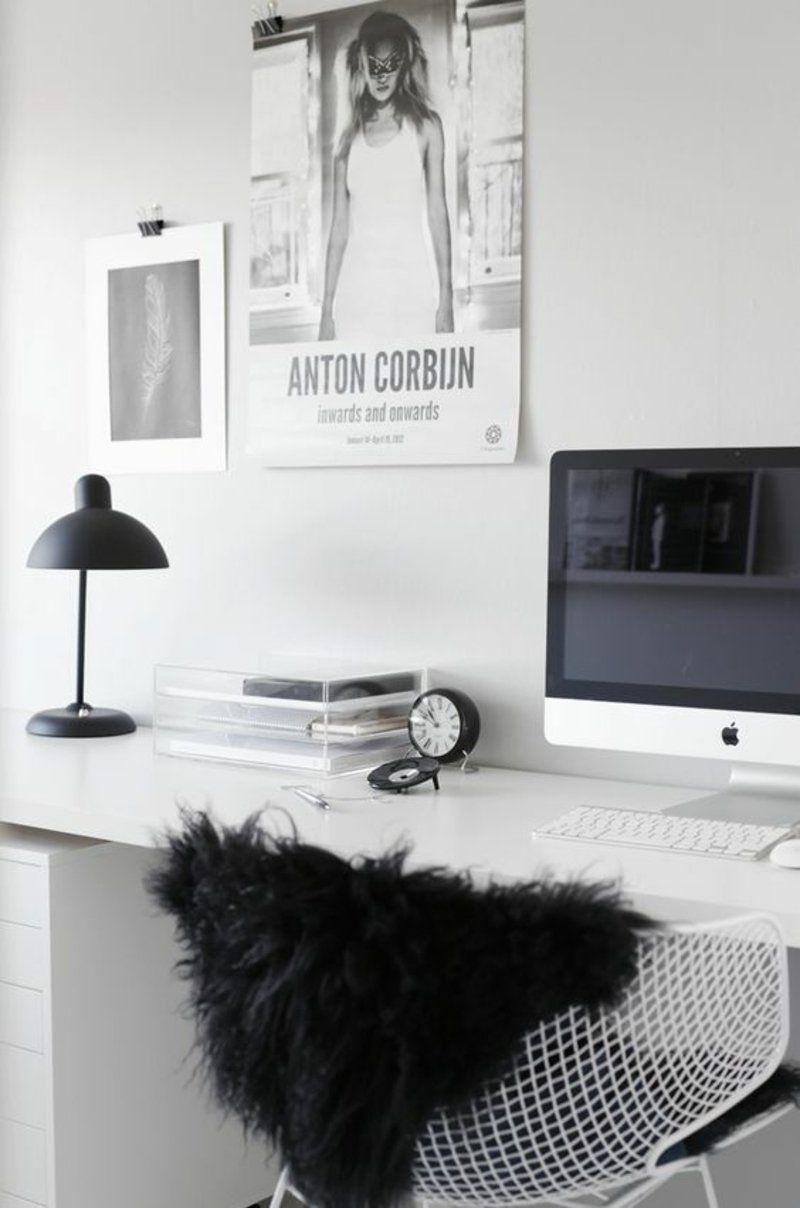 einrichtungsbeispiele husliches arbeitszimmer skandinavisch einrichten - Hausliches Arbeitszimmer Gestalten Einrichtungsideen