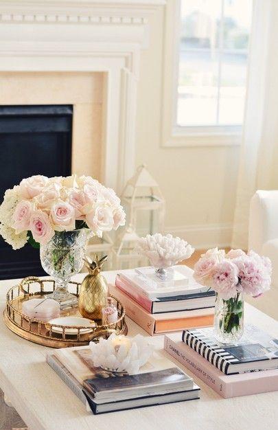 Coffee Table Decoration Romantic