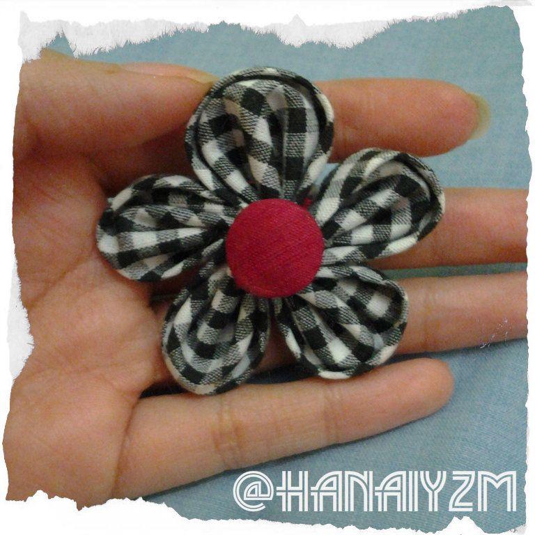 Just a Blog: Clover Tool Kanzashi Flower Template Orchid Petal ...