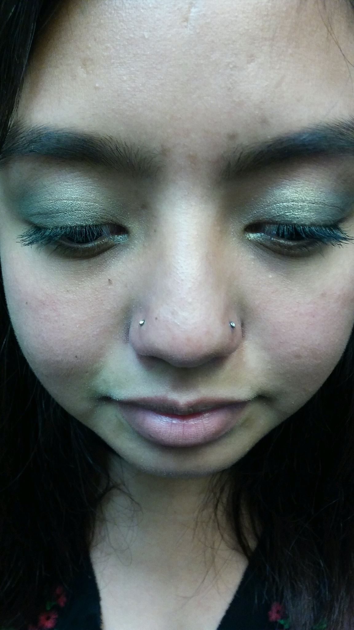 Two Sided Nostril Piercing By Irene Manteca Ca Union Tattoo