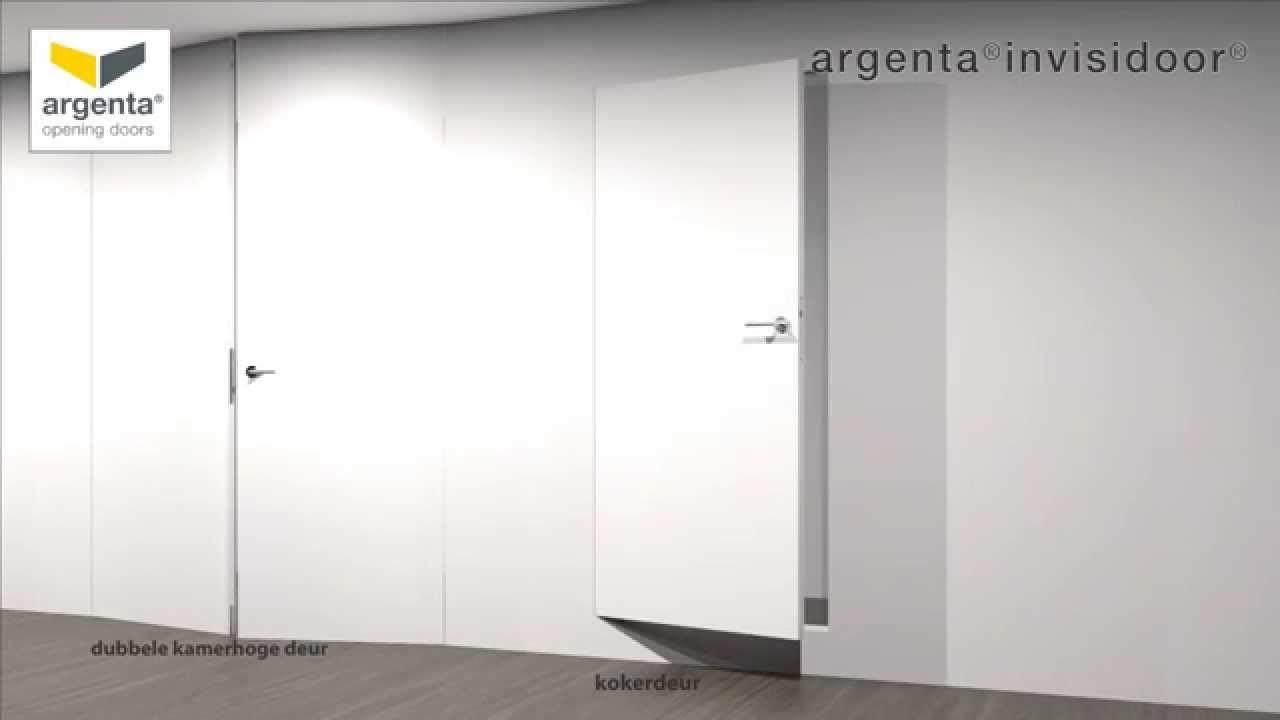 Argenta invisidoor dl installatievideo house sliding wall
