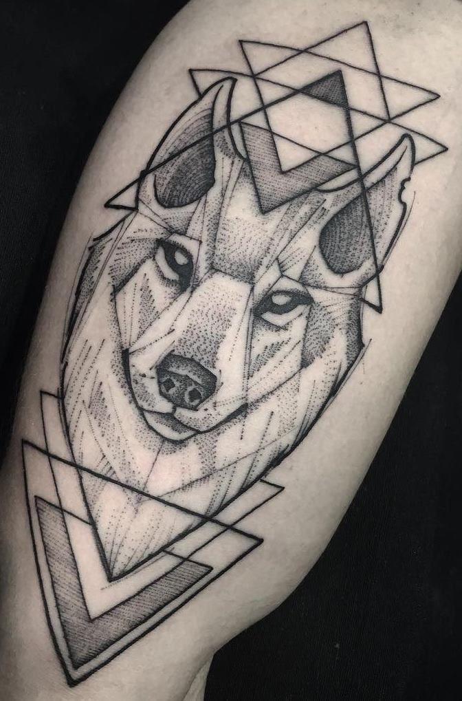 Photo of As 230 Melhores Tatuagens de lobo da internet [Femininas e Masculinas] – Top Tatuagens