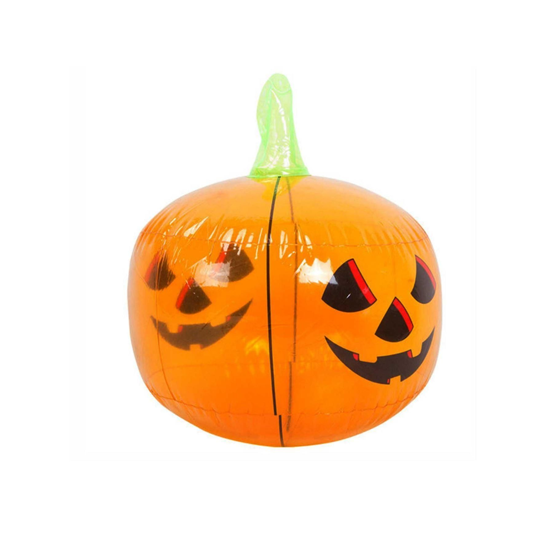3x Halloween Inflatable Pumpkin Halloween Decoration Fancy Dress ...