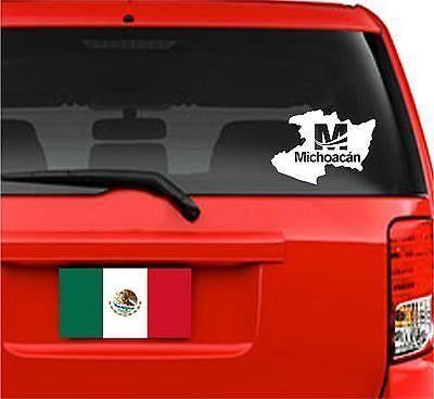 GUANAJUATO  MEXICO STATE VINYL DECAL GTO STICKER WINDOW BODY WALL #2