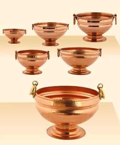 copper indian utensils - Google Search