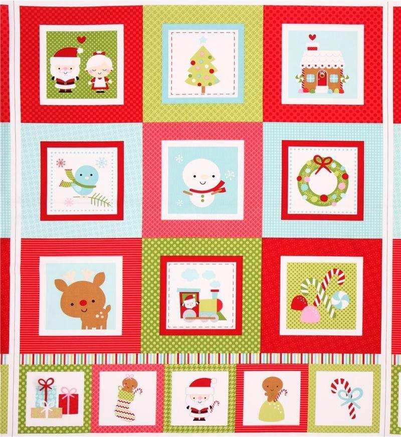 http://www.kawaiifabric.com/en/p6844-red-green-Riley-Blake-Santa-Claus-panel-Xmas-fabric-Santa-Express.html