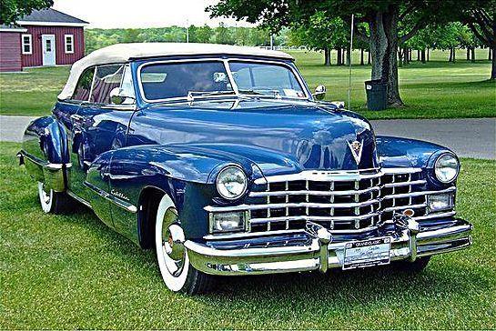 Oldtimer Cadillac Cabriolet Coupé 1947
