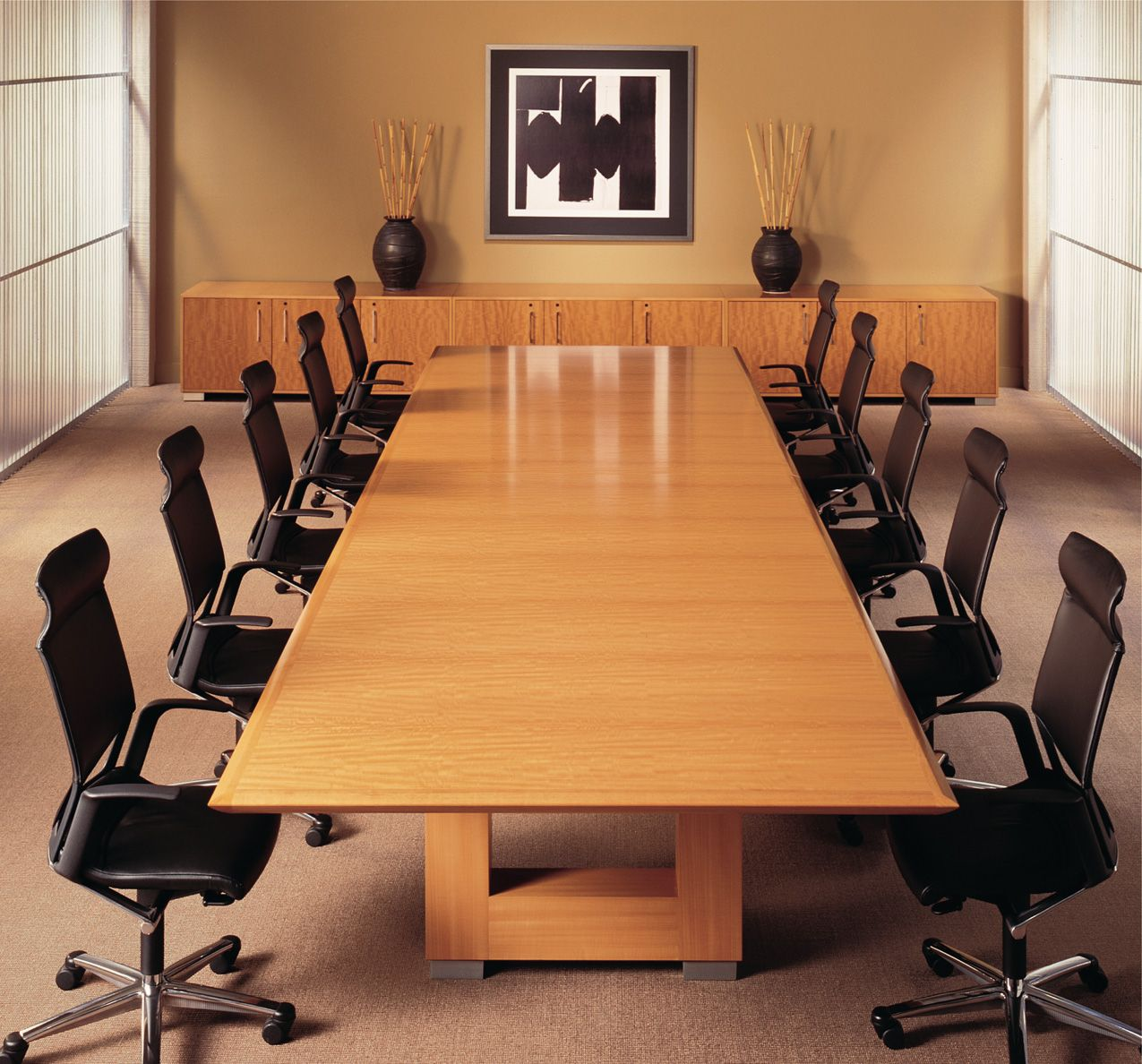 Interior Impressive Office Meeting Room Design Ideas With Amazing Great Bright Brown Glos Conference Room Design Meeting Room Design Meeting Room Design Office