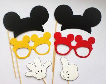 Cabina foto del mouse di minnie rossa puntelli orecchie di for Cabina del biscotto di marthastewart com