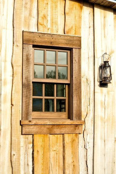 Photo 49771 Weathered Oak Window Trim Window Trim Exterior Wood Window Trim Rustic Window
