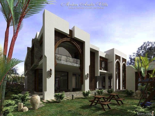 Arabic modern villa google search arabic modern style for Architecture moderne villa