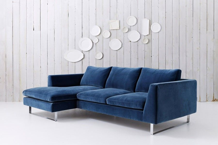 Jasper - Modern Sofa with Chaise | Colors in Interiors in ...