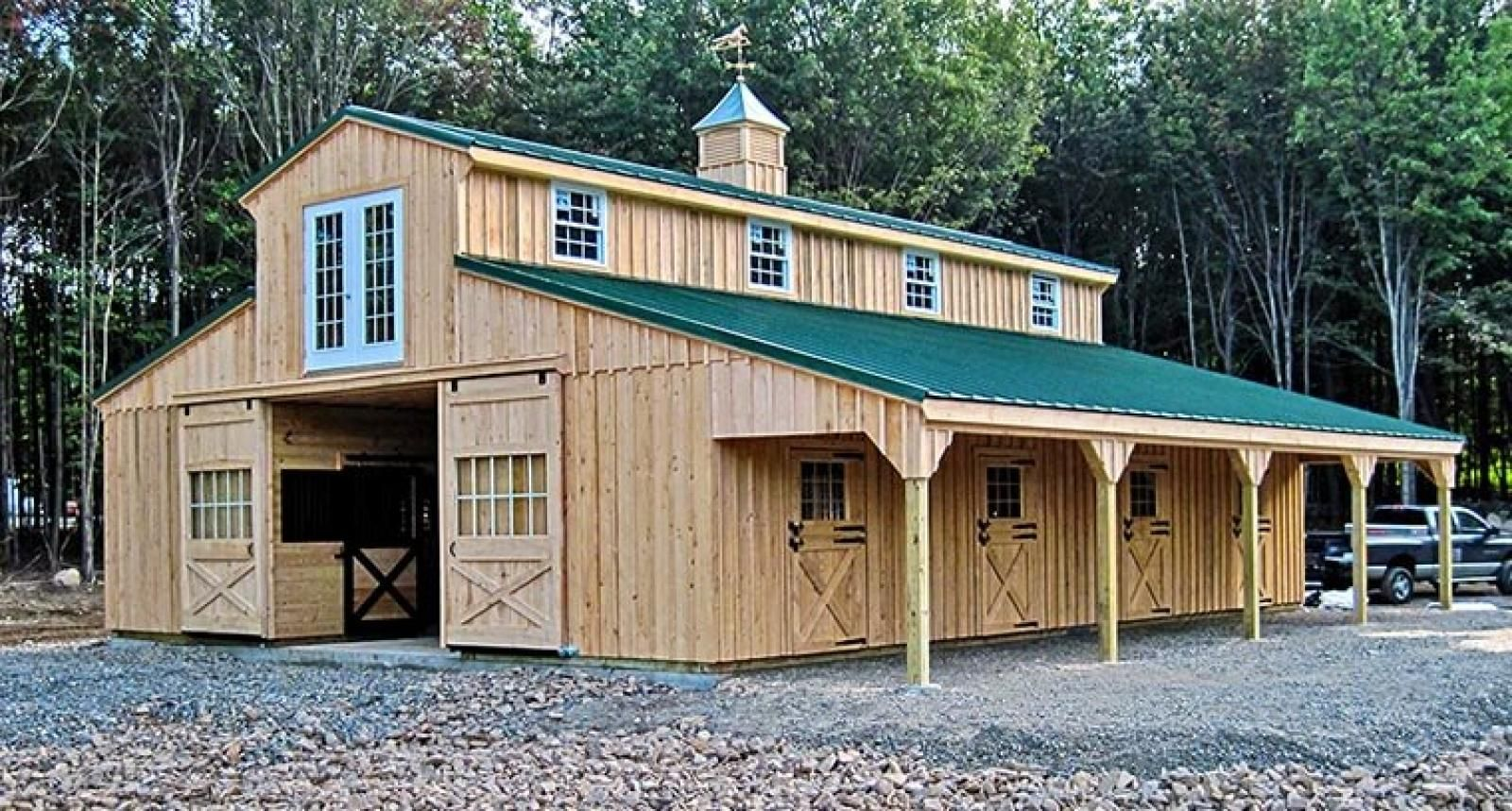 Pin by Stacy Noble-Johnson on FARM: Barn   Barn kits, Barn