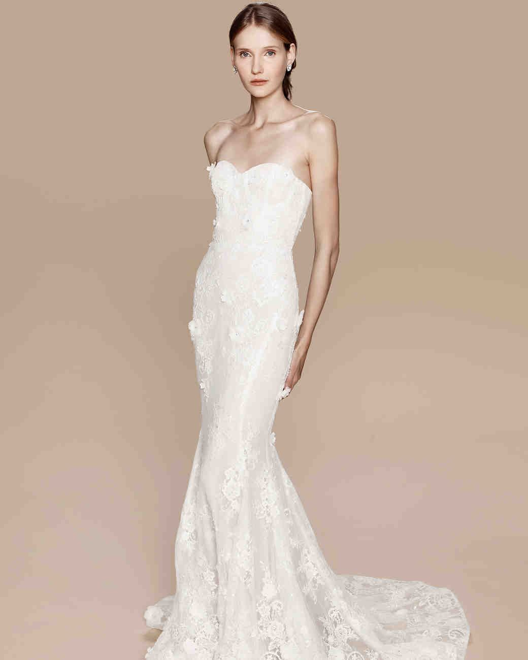Exclusive First Look: Marchesa Notte Fall 2017 Wedding Dress Collection.  Marchesa Wedding DressStrapless Wedding DressesMarchesa ...