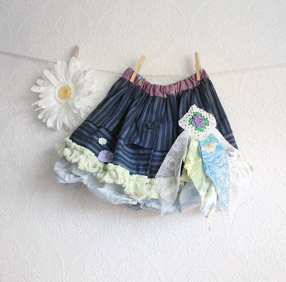 Size 3T mustache skirt