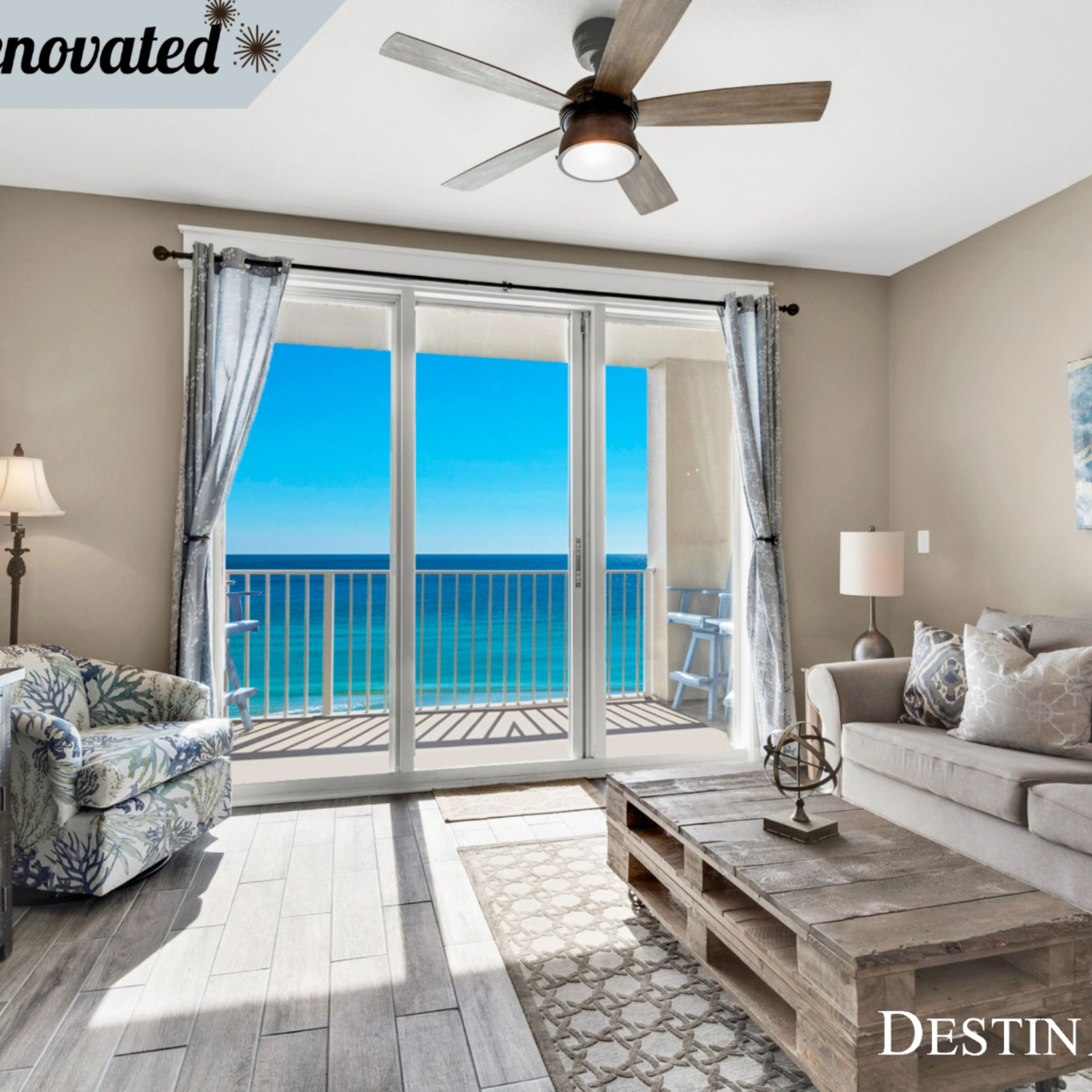 This newly renovated vacation rental condo in Destin, FL