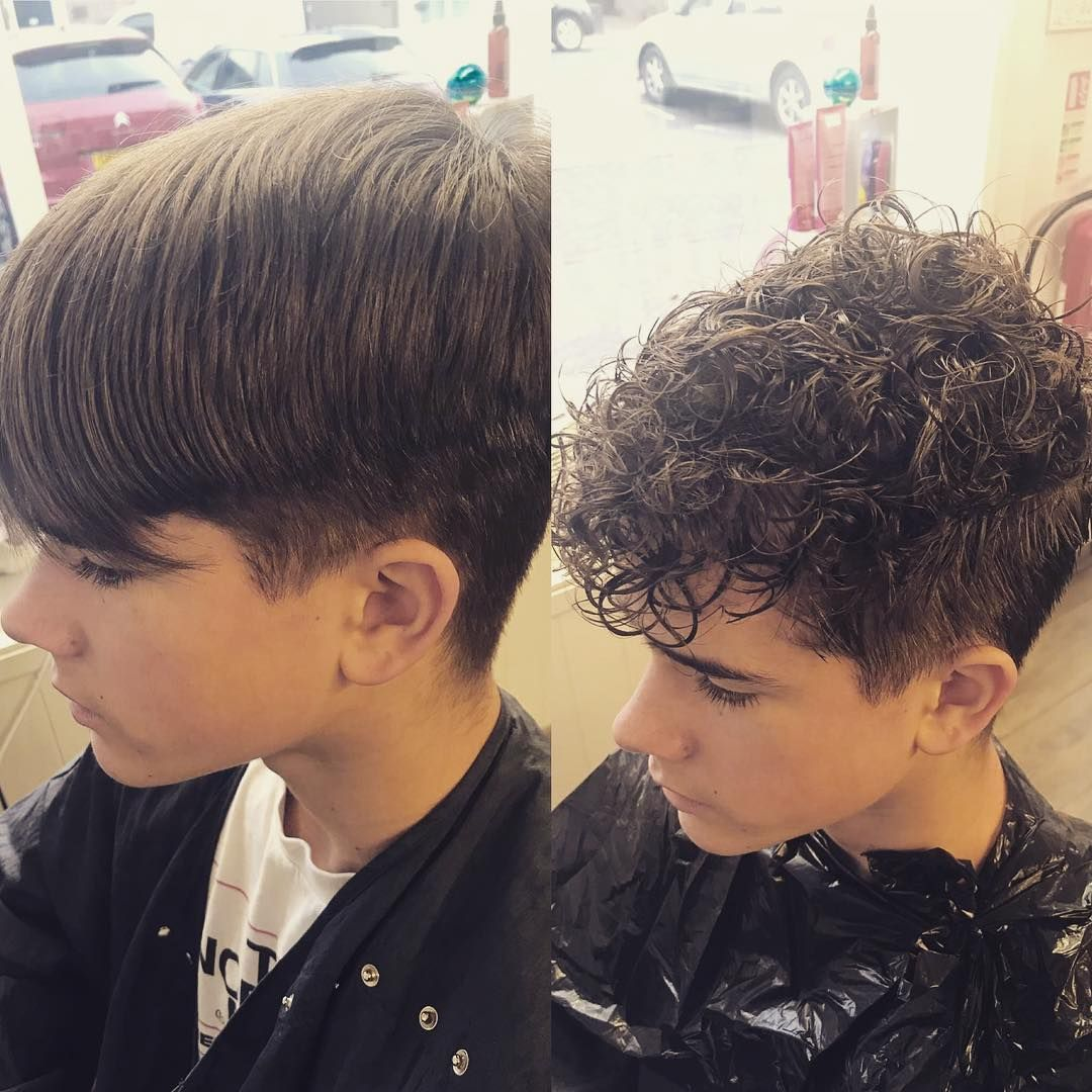 Gege Hair And Beauty On Instagram Men S Perm Done Today By The Fabulous Laura Unisexsalon Permedhair Me In 2020 Permed Hairstyles Hair Styles Curly Hair Photos