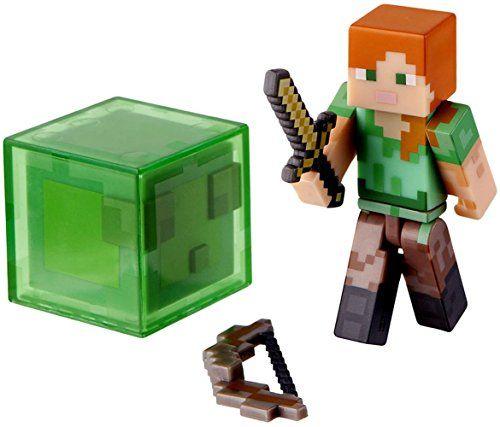 Minecraft - Overworld - Alex - Figurine Articulée 7 cm