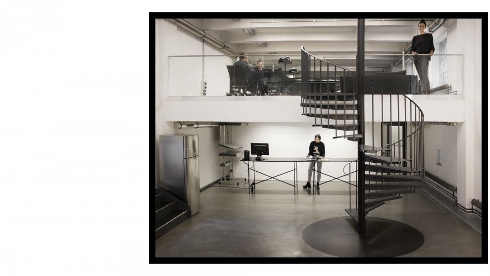 Bauhaus Temple @ Leo Burnett Lauffer Studio | Home // Workspaces ...