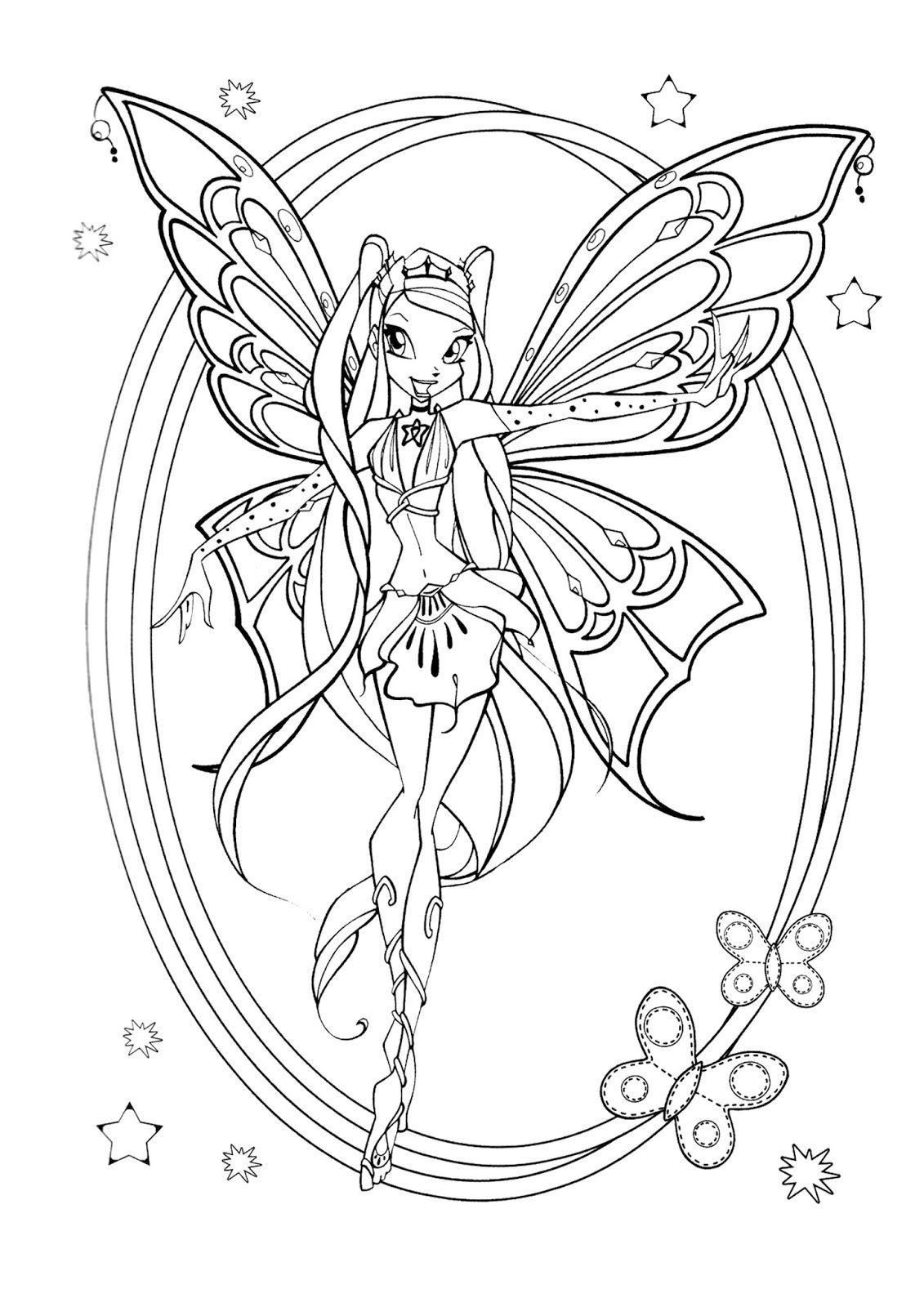 Winx Club Coloring Pages Best Of Awesome Musa Winx Coloring Pages Fansites Coloring Pages Fairy Coloring Pages Cartoon Coloring Pages