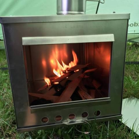 Lightweight Wood Burning Stoves for Tents & Lightweight Tent (Guide) Wood Stoves   Stove Tents and ...