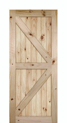 7 0 Tall K Bar V Grooved Knotty Pine Barn Door Slab