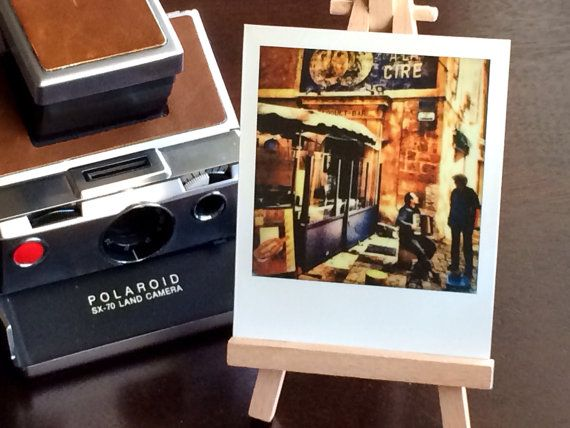 Polaroid Picture - A Conversation in France, Aix en Provence - Masters on Polaroids