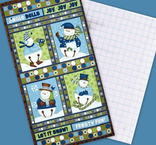 Easy Christmas Quilt Patterns | Easy Panel Quilt Kit Jingle Bell ... : christmas quilt panels - Adamdwight.com