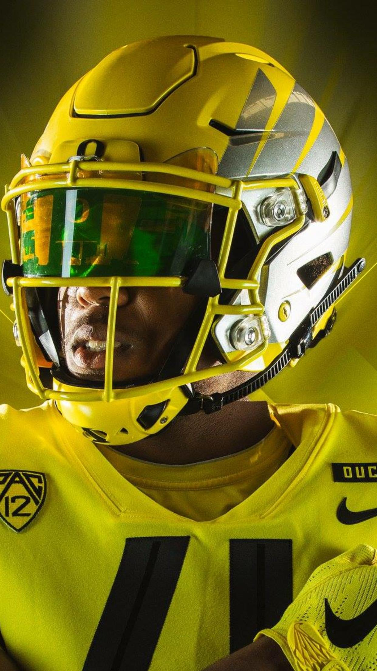 "12098e2dc Electric Yellow  ""wings"" helmets vs  Bowling Green (2018)"