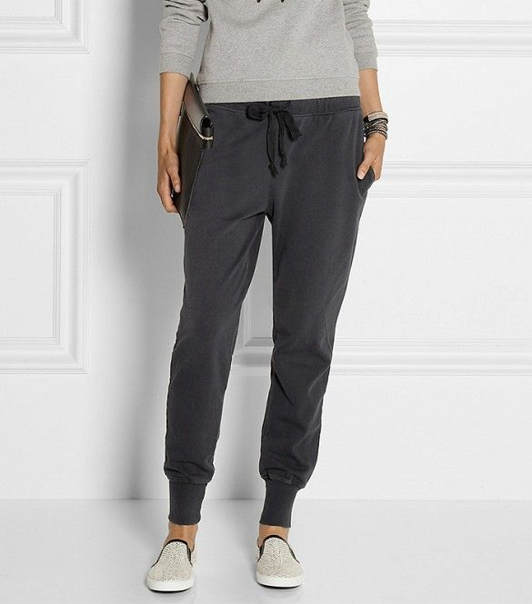How To Wear Track Pants  6 Ways To Style Them for Summer via  WhoWhatWear  Love this look!! 8e38c1389700