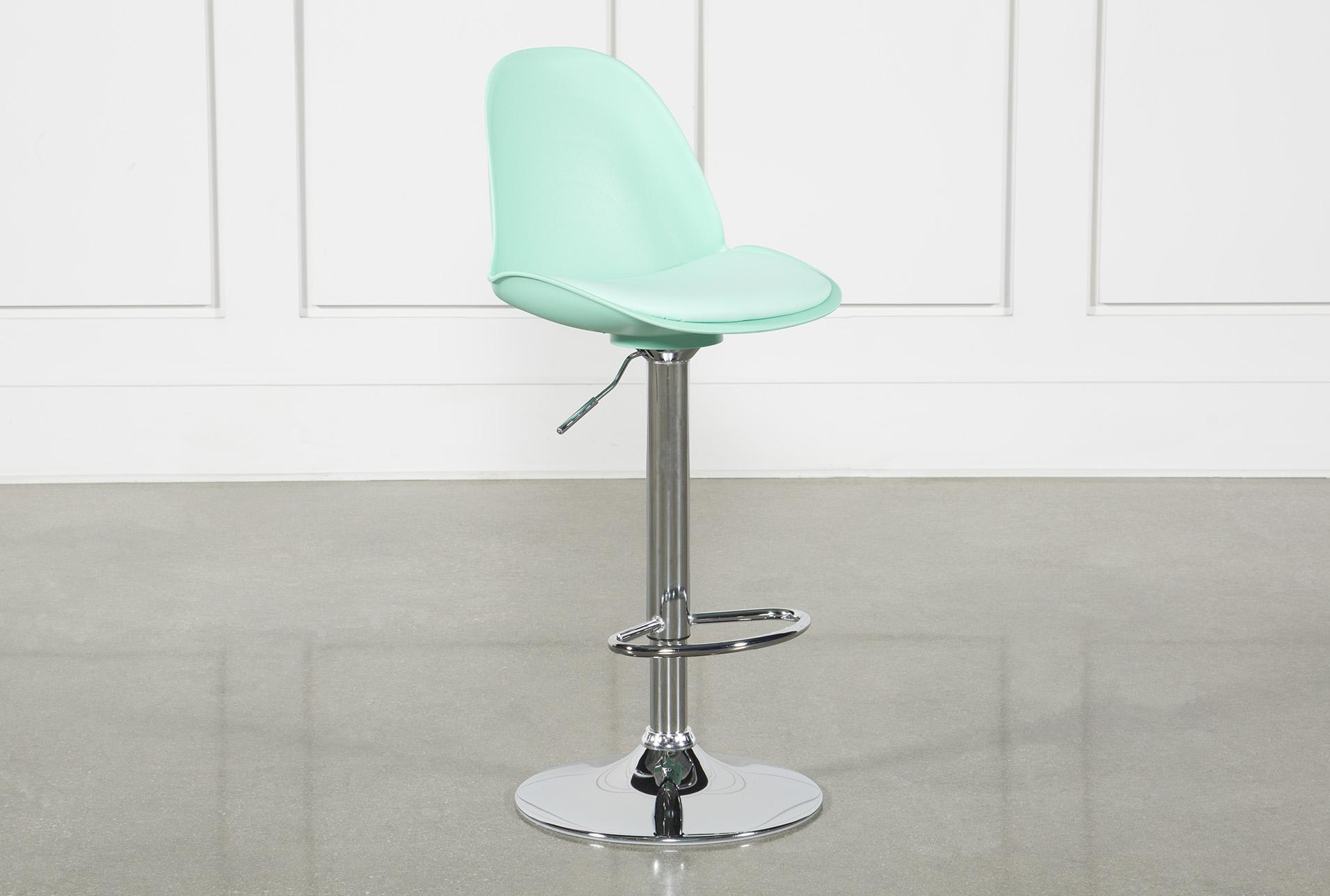 Outstanding Dixon Aqua 33 Inch Adjustable Bar Stool In 2019 Products Ibusinesslaw Wood Chair Design Ideas Ibusinesslaworg