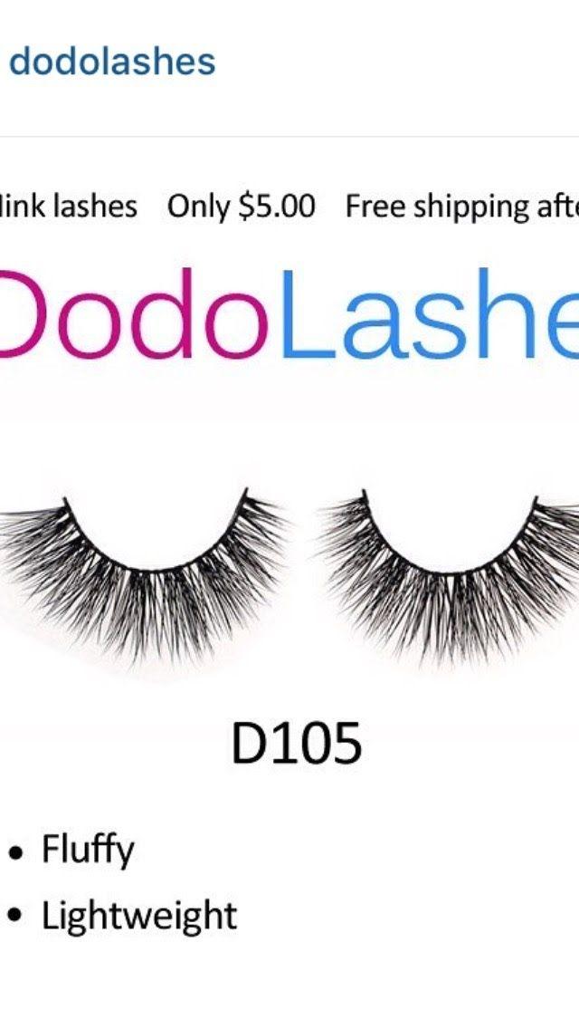 d4f515ec97f DODO LASHES 5$ MINK LASHES | MAKEUPBYSHEAA | Lashes, Beauty makeup ...