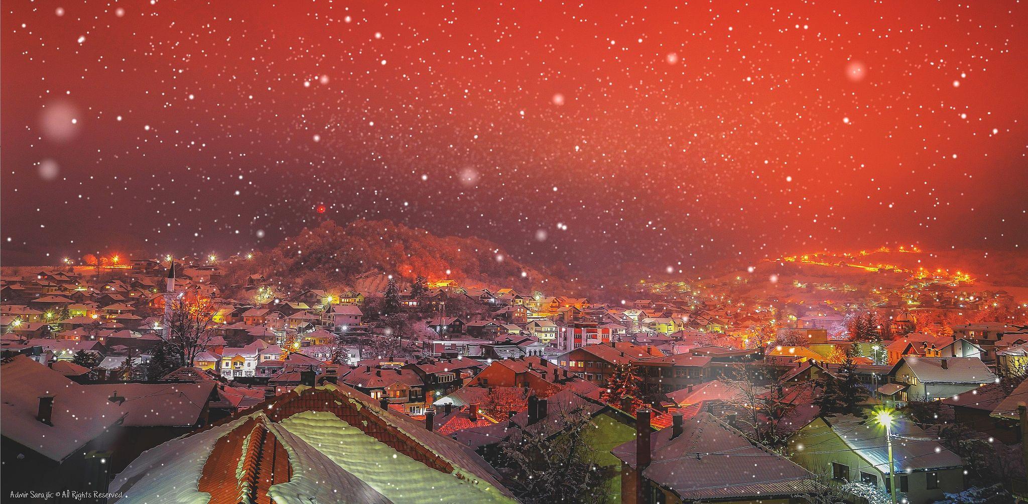 Nostalgic winter night by Admir Sarajlic on 500px
