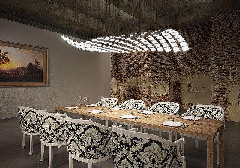 minecraft interior lighting. Stunning New Lighting Technologies A Experience Of Light For Interiors: Selux Manta Rhei Minecraft Interior