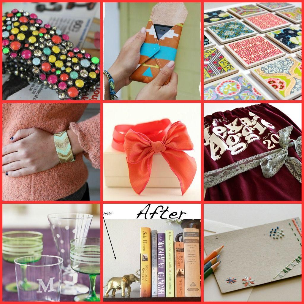 Stylish craft gifts to make