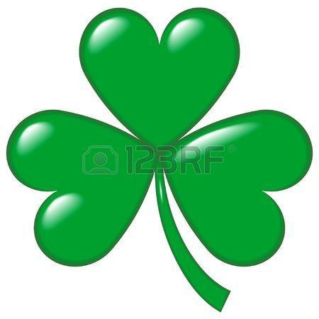 Un ejemplo de un Raksha, hop o el trébol, el símbolo de Irlanda y del Día de San Patricio (una leyenda dice que el santo lo utilizó para explicar la Santísima Trinidad).