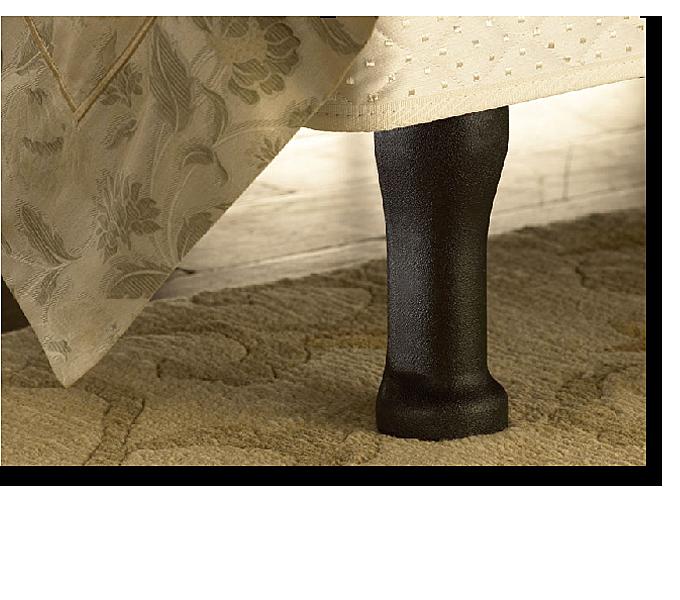 Sleep Number Modular Base Legs An Attractive Alternative To A