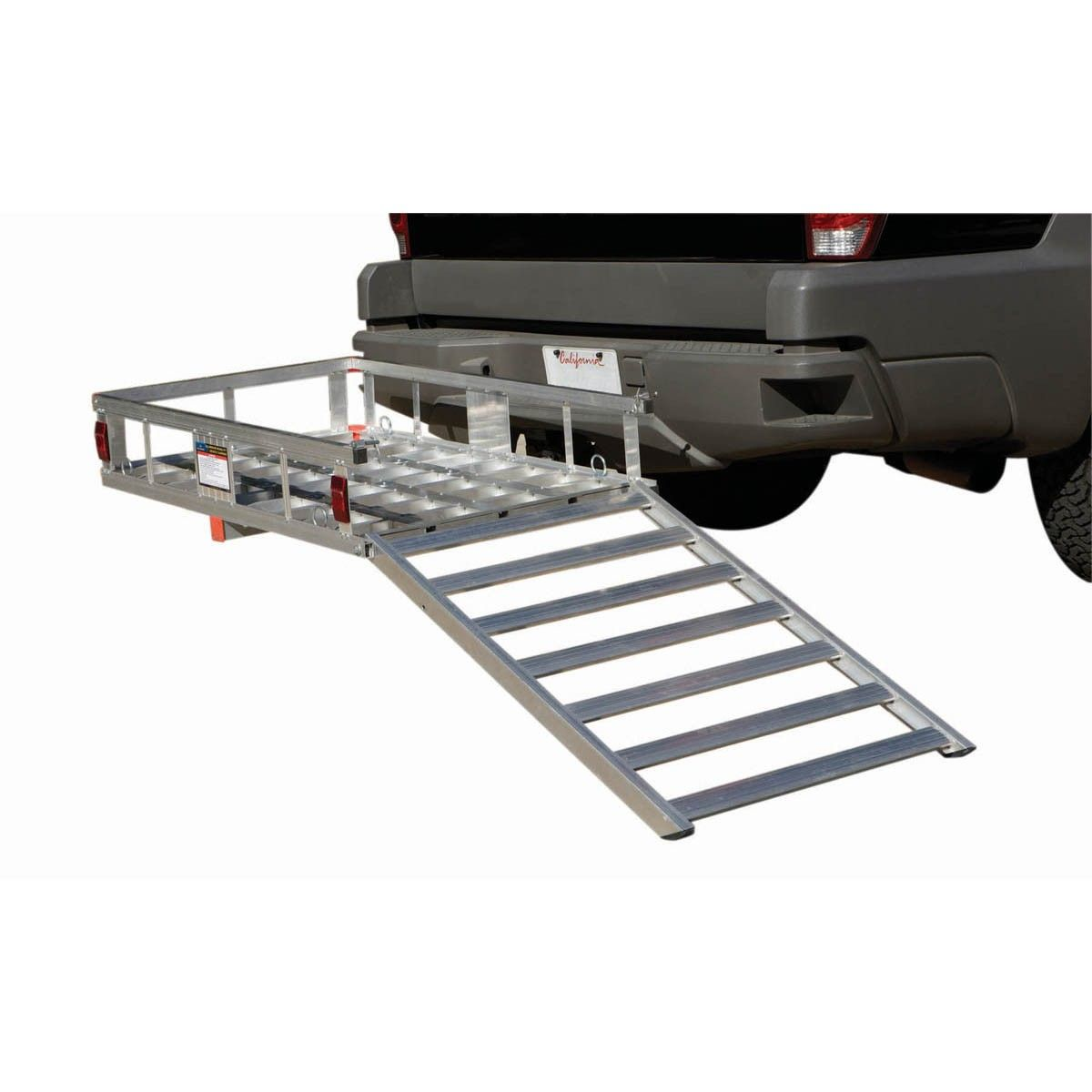hight resolution of haul master 67599 500 lb aluminum mobility wheelchair and scooter carrier