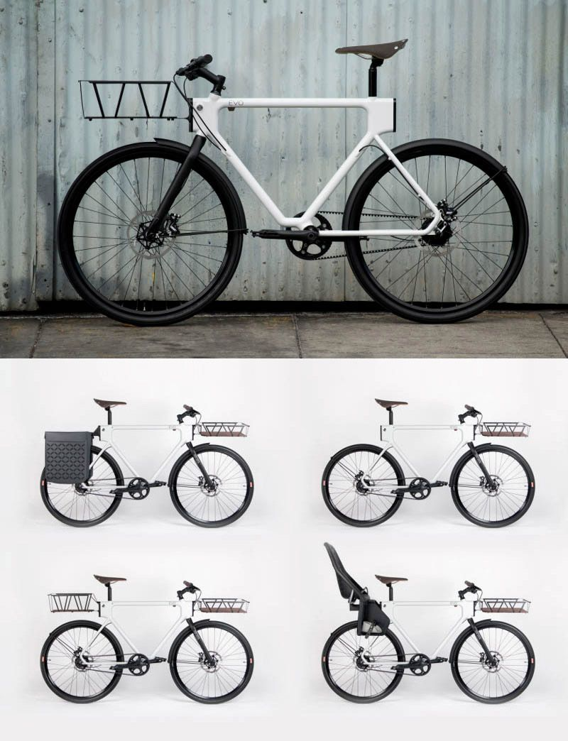 Evo Urban Utility Bike By Huge Design 4130 Cycleworks And Pch