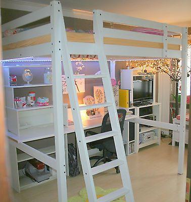 Download Hochbett Stora Indoo Haus Design In 2020 Hochbett Kinder Schreibtisch Hochbett Und Hochbetten Kinderzimmer