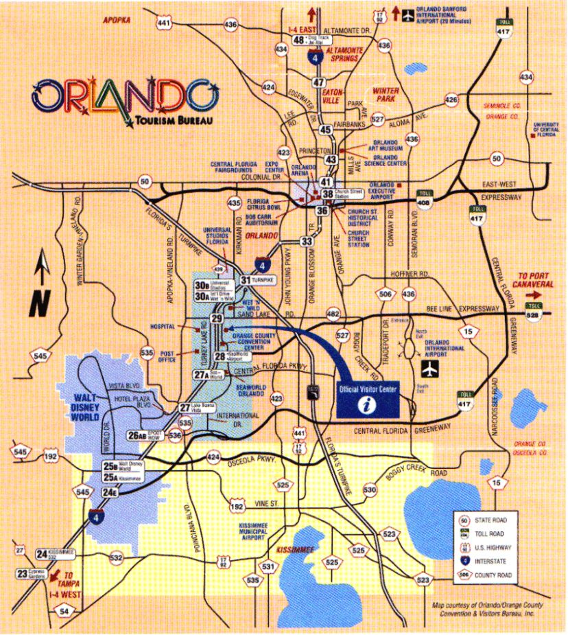map of orlando attractions Fun Things To Do In Orlando Besides Disney Orlando Travel map of orlando attractions