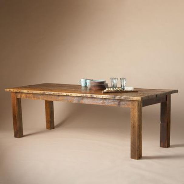 Cumberland Table From Country Kitchen To Backcountry Hideaway Our Inviting And Invincible Gather Round Table Is The Id Dining Table Table Outdoor Dining Table