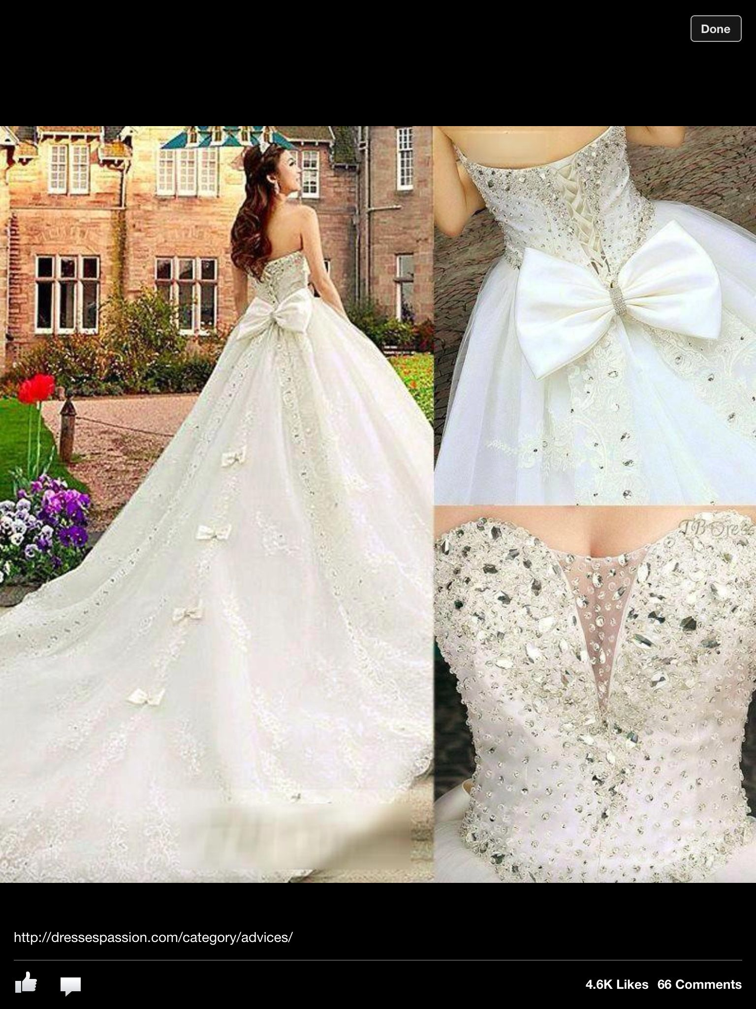 Blinged out wedding dress  Very blinged bow diamonds dress gypsy style  Gypsy Bling