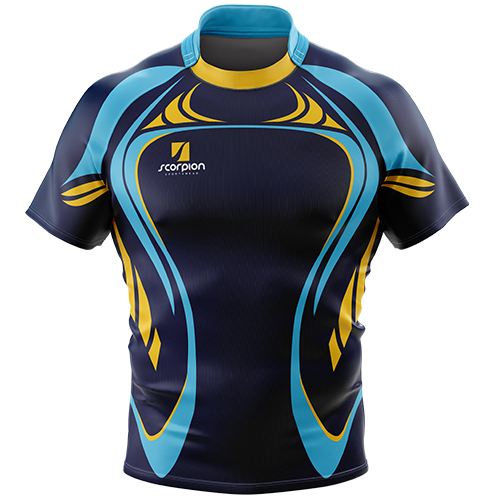 Scorpion Sports Uk Printed Rugby Shirts From Just 6 In Your Own Bespoke Design Or Colour Com Imagens Camisas De Futebol